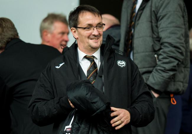 Partick Thistle chief executive Gerry Britton