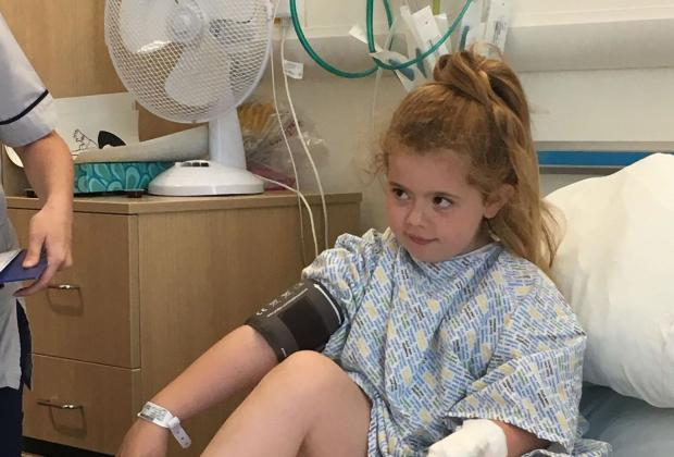 Glasgow Times: Amelia spent 8 weeks in hospital