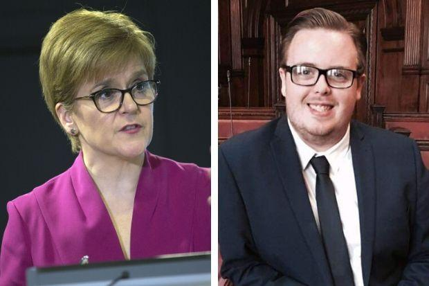 Tomas Kerr has criticised First Minister Nicola Sturgeon