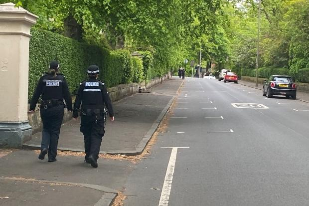 West End residents call in cops over new cyclists using pavements