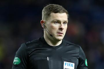 Referee John Beaton opens up on abuse he received after Celtic vs Rangers clash in 2018