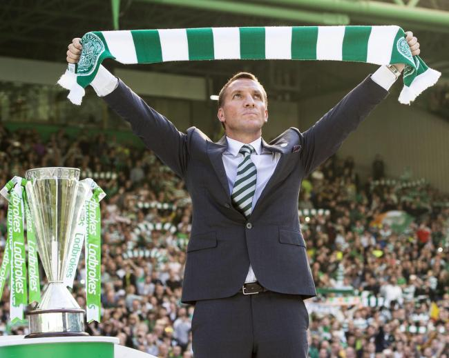 Brendan Rodgers played his part in an historic streak for Celtic