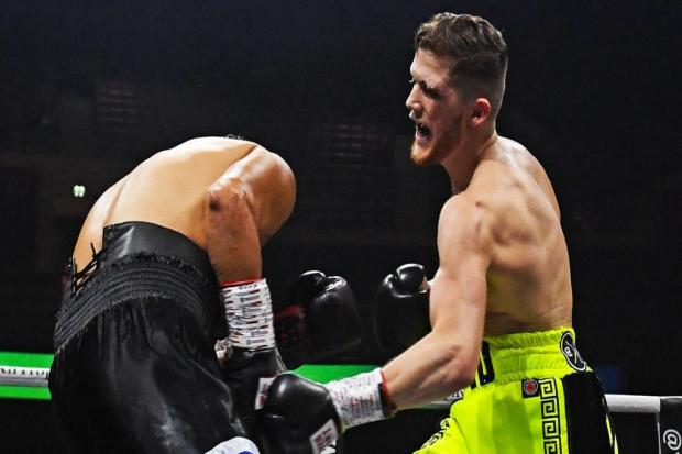 John Docherty is open to the idea of competing at Eddie Hearn's Fight Camp