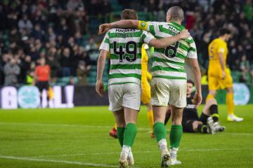 Scott Brown hails James Forrest as quiet man who has been front and centre of Celtic's nine-in-a-row run