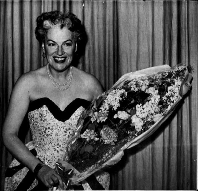 Gracie Fields in 1952