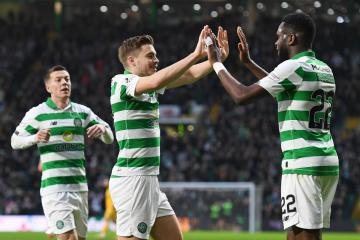 James Forrest says 'brilliant' Odsonne Edouard as good as any striker he has played with at Celtic