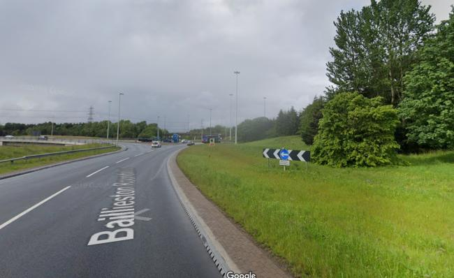 Glasgow motorway junction closed as police attend serious road traffic incident