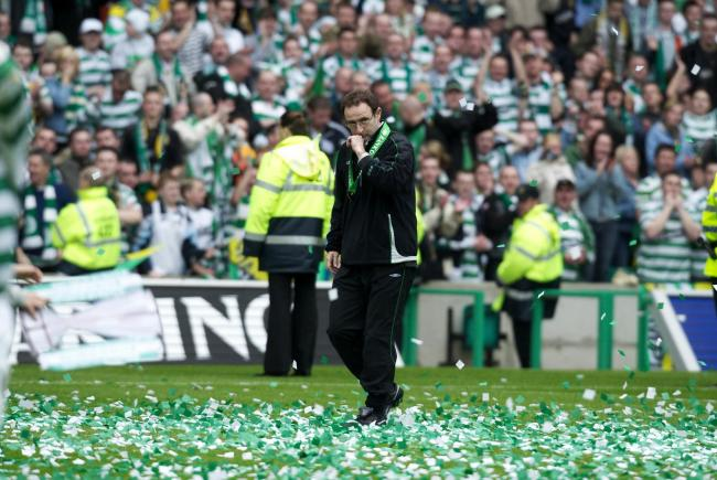 Martin O'Neill was appointed as Celtic manager 20 years ago today
