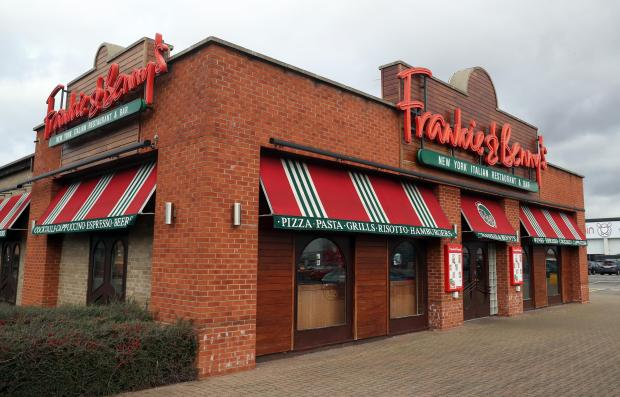 Glasgow Times: A Frankie & Benny's branch. Picture: PA Wire