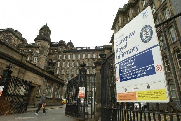 The Glasgow Royal Infirmary