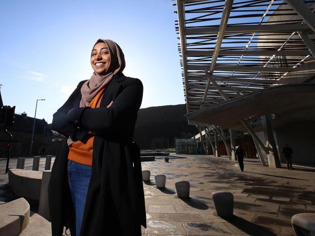 Razanah Hussain, equal rights activist. Pic: Gordon Terris