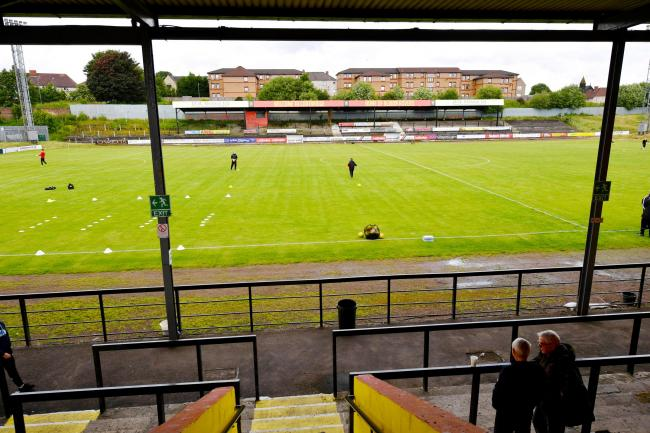 Cliftonhill Stadium, home of Albion Rovers