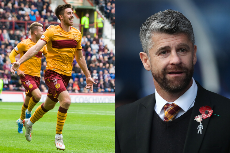 New Motherwell captain Declan Gallagher says Robinson 'best boss in country' and can lead club to Europa League group stages