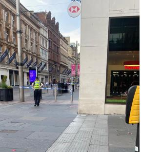 Police lockdown city centre bank amid ongoing incident