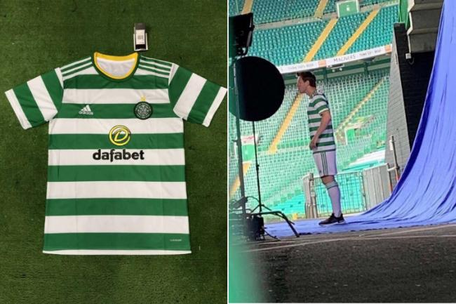Celtic's Callum McGregor pictured wearing new Adidas kit in leaked snaps on social media