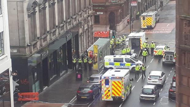 Glasgow stabbing: Officer stabbed in West George Street attack named as police give condolences to victims and their families