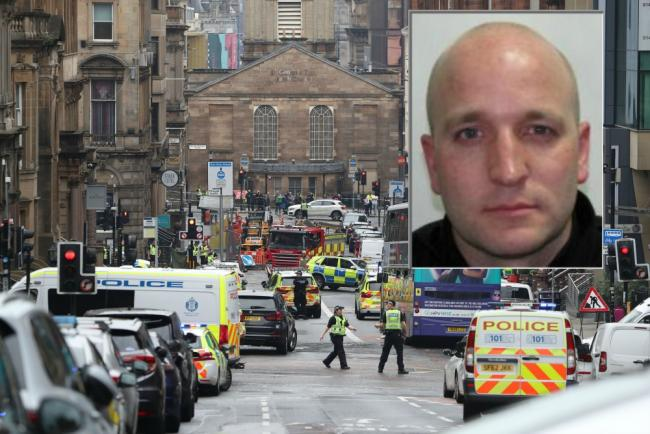 'Incredibly proud' wife of police officer injured in Glasgow stabbings pays poignant tribute