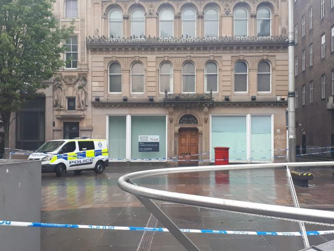 Man charged in connection with St Enoch attack which saw square cordoned off