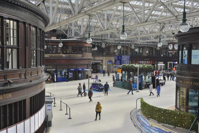 Glasgow Central to host pop-up food bank