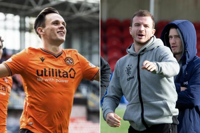 Andy Halliday insists he'd take Lawrence Shankland at Rangers for his 'knack' of scoring goals