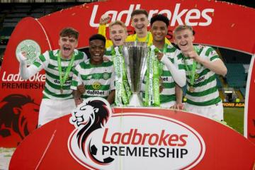 Celtic tie up new contracts for highly-rated academy prospects including Stephen Welsh on three-year deal