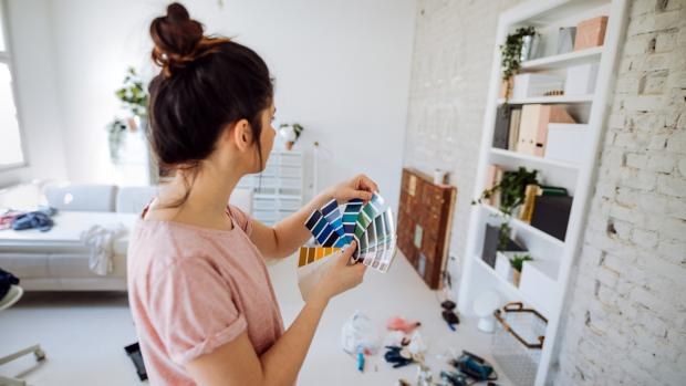 Glasgow Times: Consider what colour you'd most enjoy in the space, and feel free to consult paint fan decks, samples, and even apps to help you decide. Credit: Getty Images / AleksandarNakic