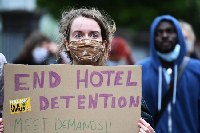 Report highlights previous warnings over housing asylum seekers in hotels