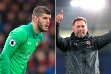 Southampton boss Ralph Hassenhuttl addresses Fraser Forster future amid Celtic interest