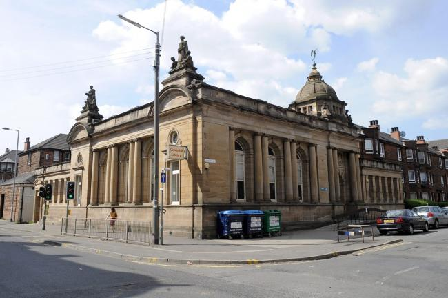 Govanhill Library.