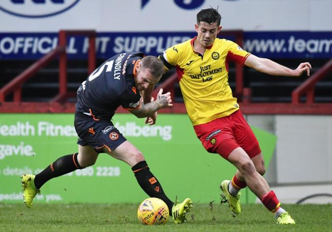 Alex Jones is among the six players set to leave Firhill