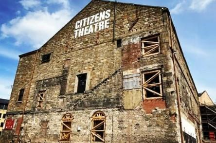 Work on the redevelopment of the Citizens Theatre has began again. Pic: Citizens Theatre