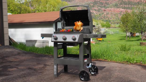 Glasgow Times: The Weber Spirit II E-310 remains the best gas BBQ we've tested. Credit: Reviewed