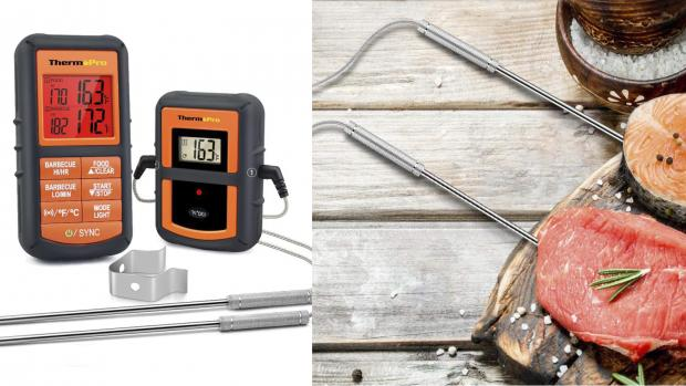 Glasgow Times: This probe thermometer is versatile and accurate. Credit: Amazon