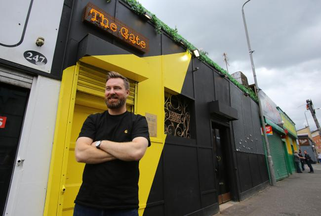 East End Quarter feature. Pictured is Andy Gemmell, owner of The Gate pub on the Gallowgate, Glasgow...  Photograph by Colin Mearns.19 July 2019.For The Herald magazine, see story by Russell Leadbetter..