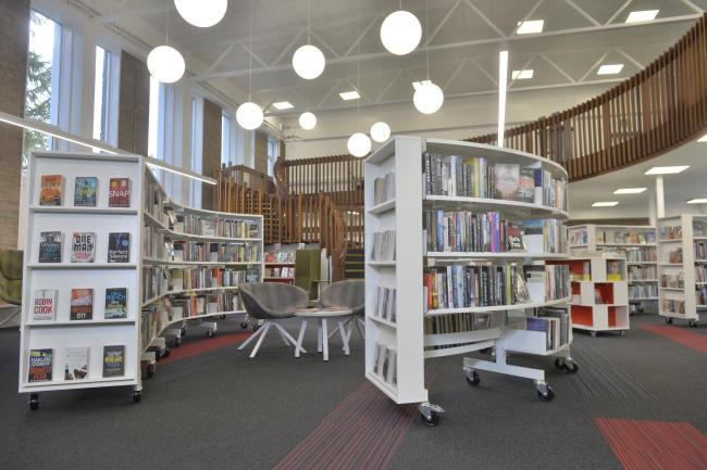 Cardonald Library Re-Opening..Cardonald Library is due to re-open to the public on October 22 following a £660,000 investment - the library closed in March and the investment has seen the venue re-wired, and replacement windows and a new boil