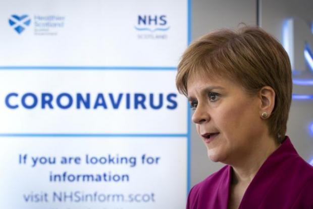 Cluster of Covid-19 cases identified in Glasgow care home, Sturgeon confirms