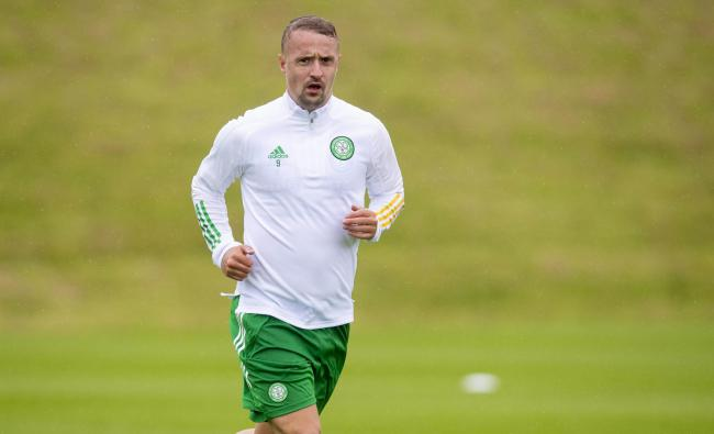 Celtic striker Leigh Griffiths has returned to training overweight