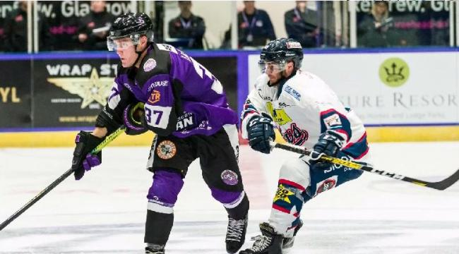 Glasgow Clan v Dundee Stars in the EIHL Challenge Cup at Braehead Arena on 31 August , Picture: Al Goold (w w w .algooldphoto.com).