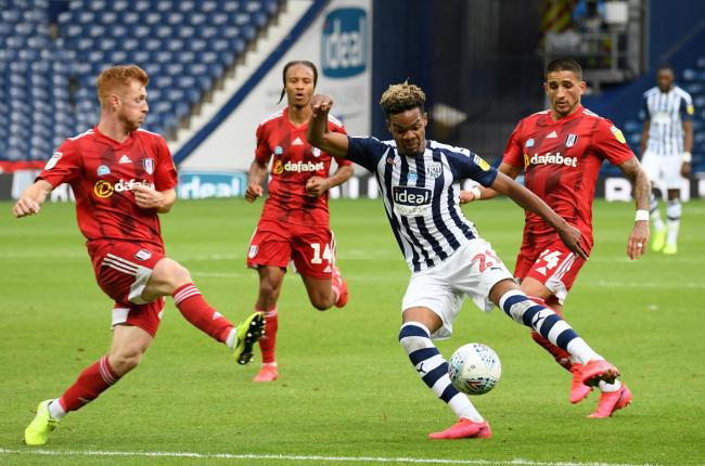 Grady Diangana is currently on loan to West Bromwich Albion from parent club West Ham.
