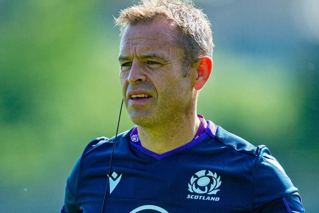 30/07/19.SCOTLAND TRAINING.ST ANDREWS.Scotland assistant coach Danny Wilson.