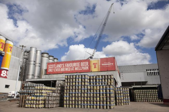 Tennent's commits to sustainability with new carbon capture facility at East End brewery