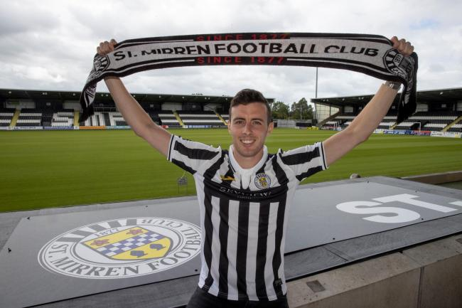Joe Shaughnessy has agreed a two-year deal with St Mirren.