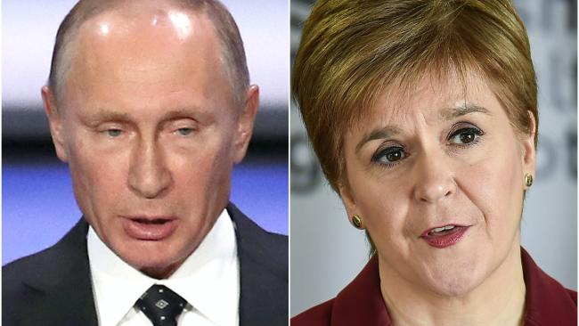 Nicola Sturgeon open to inquiry on Russian interference in independence referendum