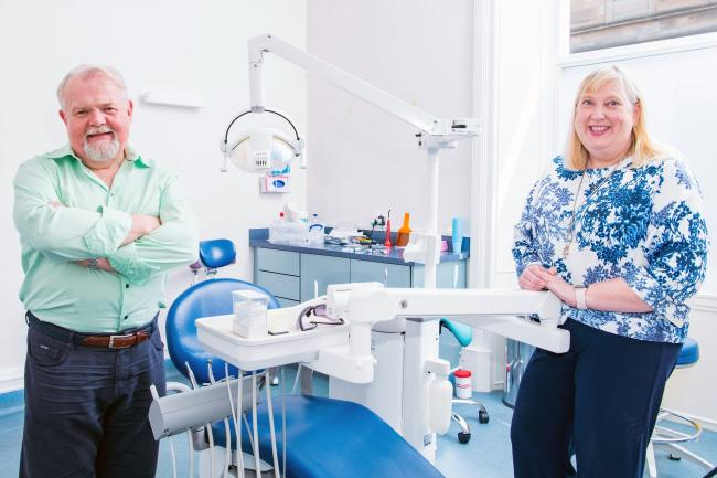 Clyde Munro Dental Group, CEO and Founder, Jim Hall and Jacqui Frederick