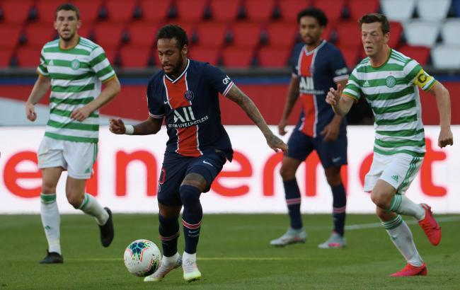 Neymar roasted by French media after Celtic antics including PSG star's spat with Neil Lennon