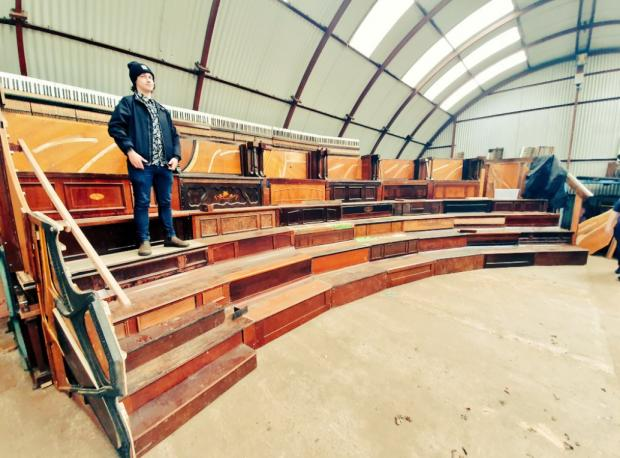 Recycled pianos turn Springburn shed into auditorium | Glasgow Times