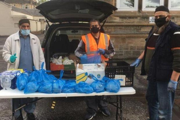 Glasgow Muslim Aid delivers food to vulnerable groups