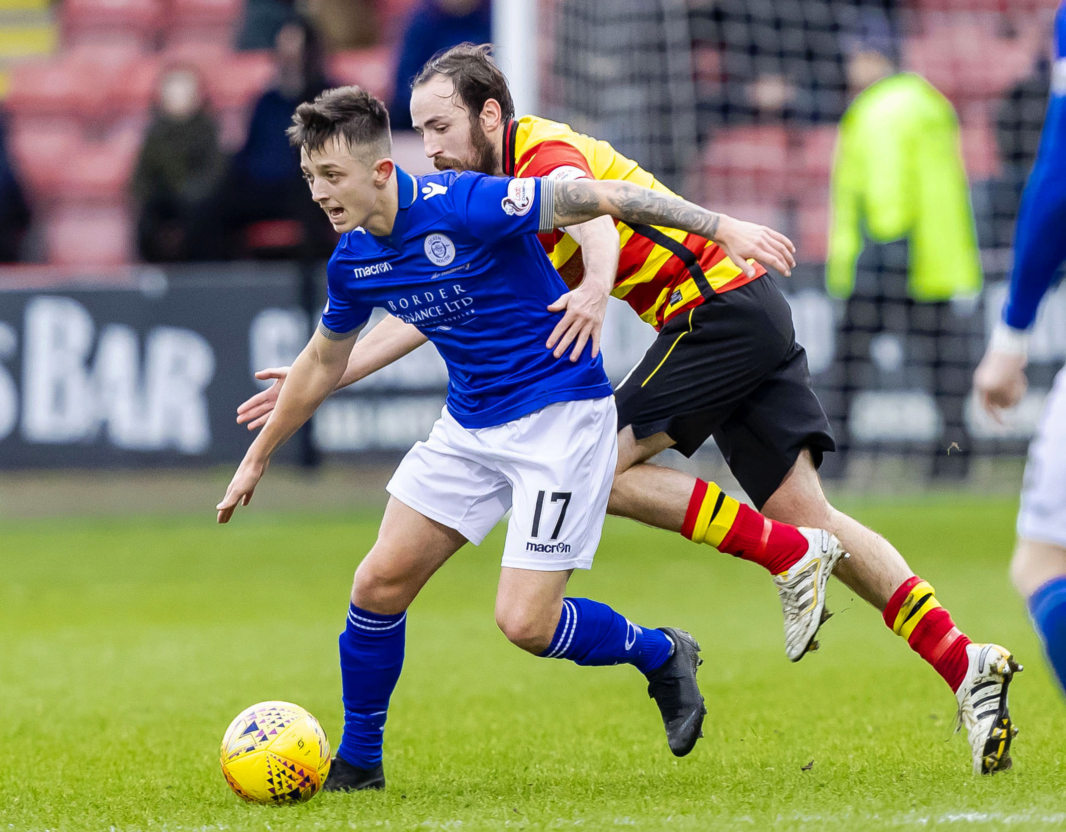 Partick Thistle seal move for Queen of the South's Connor Murray