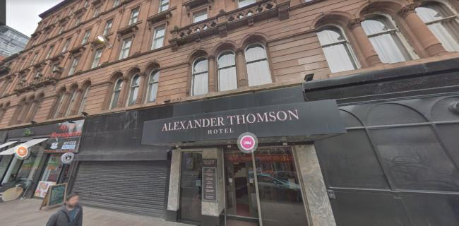Two found dead in Alexander Thomson Hotel