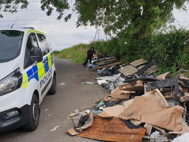 Police Scotland and flytipping